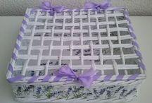 dohnalka - ruční práce / Candy bag, pletení z papíru, pečení, drátování, richelieu
