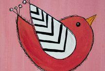 Картины с изображением птиц