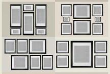 decorar paredes con cuadros o fotos
