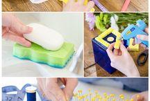 uses of sponge