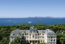 Hotel du Cap-Eden-Roc / Standing majestically overlooking the azure blue Mediterranean Sea, the Hotel du Cap-Eden-Roc has long provided a home-away-from-home for its loyal clientele, where discretion is guaranteed. This legendary property is known worldwide as where old-world glamour meets modern luxury.