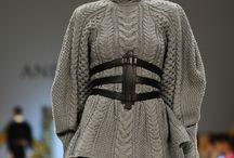 женские свитера, пуловеры...теплые, спицы / из разных источников для примера и вдохновения,  не мои работы.