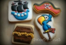 Aaar Pirates at laaarge. / Pirate cookies