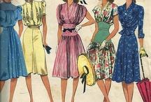 40's & 50's dresses / by Libby Denton
