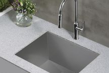Kraus Pax Zero Radius Sinks / Kraus new sink series: The Pax Zero-Radius PRO Series kitchen sinks. The R0 PRO Series expands on Kraus's already best-selling sinks. This series, however, have been engineered to meet every day homeowner needs, as well as, satisfy the pros.    Read More about these sinks here: http://bit.ly/paxzero