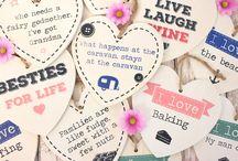 Shabby Hearts / Shabby chic hearts