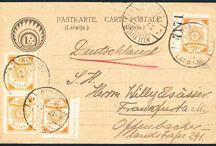 Stamps, Latvia