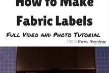 Quilt & Fabric Labels