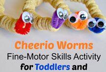 Fine-motor skill activities