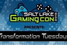 SLGC: Transformation Tuesday 2015 / Salt Lake Gaming Con presents: Transformation Tuesdays! Every Tuesday we will showcase a local Cosplayer transformed from an ordinary citizen into their favorite Cosplay character.