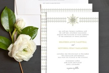 Winter Weddings  / Inspiration for romantic winter weddings. / by Elli