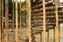 Komponen Bangunan Bambu