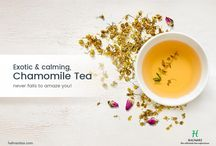 Chamomile Tea / Halmari's Chamomile tea - gentle, mellow and extremely soothing to the senses. It consists fine leaves with bright and attractive chamomile flowers.
