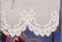cortinas crochet