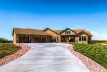 2015 Award-Winning Parade of Homes / From the front door to the back deck, every Pioneer West Home is an award winner to the homeowner!  This design build home was built in Southern Colorado to optimize the views of the mountains. PioneerWestHomes.com