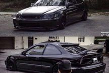HondaCivic Black