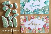 Cardmaking, scrapbooking