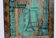 Parisian Life Mixed Media