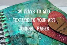 Make your own book! / Art journaling