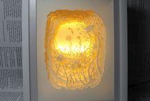 paper cut light box