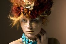 Tribal Rococo / Hair, color, fashion, inspiration, visagie, photography, style