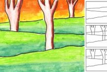 APFK Oil Pastel Projects / Oil Pastel projects from Art Projects for Kids / by Art Projects for Kids