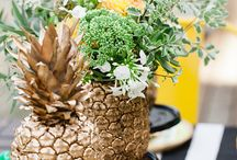Pineapple bridal shower