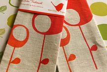 keittiötekstiilit / Tekstiilit ja kuosit sekä oheismateriaalit