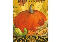 Fall Flags and Mailwraps / Create an autumnal entrance with a garden flag, mailbox wrap or house flag. We've got a lot to choose from! / by Stauffers of Kissel Hill