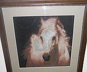 Животные в картинах, вышитые крестом.