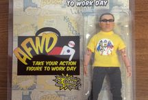 2015 Action Figure Work Day / Photos from Take Your Action Figure To Work Day 2015