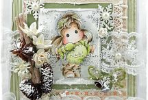 Lovely Inspirations / Cards, Bookmarks, Boxes, Stamps, Cards, Cute