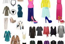 Omgekeerde driehoek/ peer kleding advies
