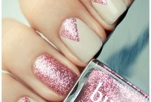 Nails / Nails with art,glitters,French,colour