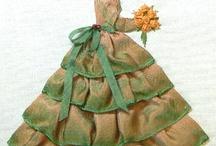 Ribbonwork Doll/Ladies
