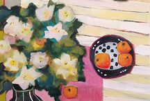 still lifes -  mostly paintings