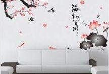 chines wall murals