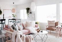 living + studio area