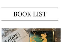 Book List for 2018 / My ever-growing book list!