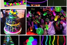 ideas for Lyrah's glow party