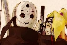 Obito and Deidara