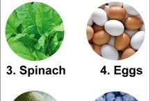 Healthy food / Sunn mat