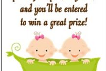 Twin baby shower / by Kensey Jarboe