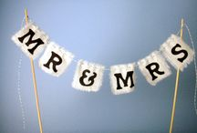 Banner Cake Toppers