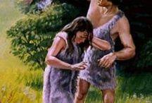Adami Ewa zostali wyrzuceni z Ogrodu Eden.