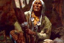 Native american in arts