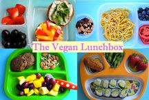 The Vegan Lunchbox / Easy vegan and meatless lunch-packing ideas from veggie-kids.com