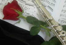 Flutes & Harps ♫ / I started to play the flute in 1970, and I'd love to play the harp one day. On this board, I recall memories of the one and dream of the other. / by Susan Reece Robinson