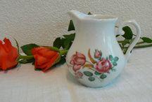 Vintage Tea Items / #Vintage tea cups #vintage creamers # vintage tea pots