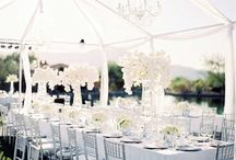 White Wedding Inspiration / Ideas and inspirations for classic white weddings